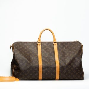 LOUIS VUITTON MONOGRAM KEEPALL 55 monogram